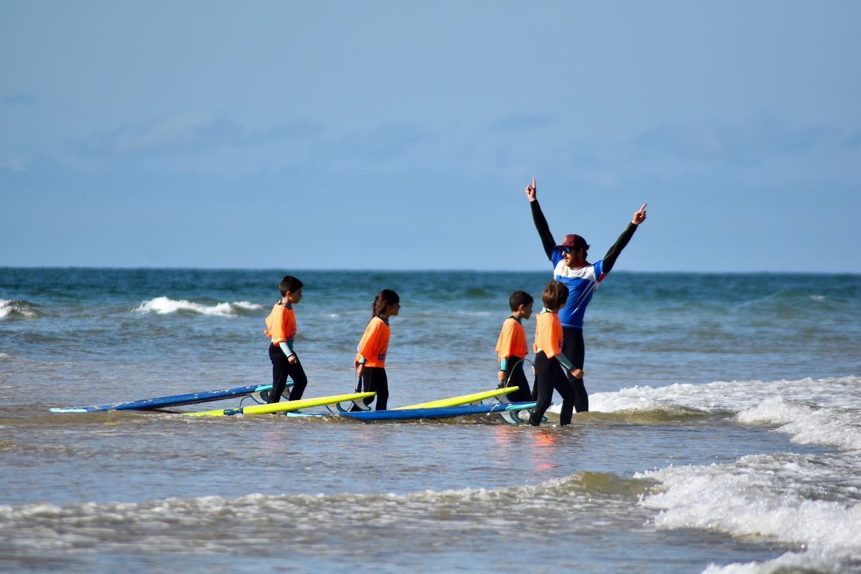 "Initiation au surf ""Mimizan Surf Academy"""