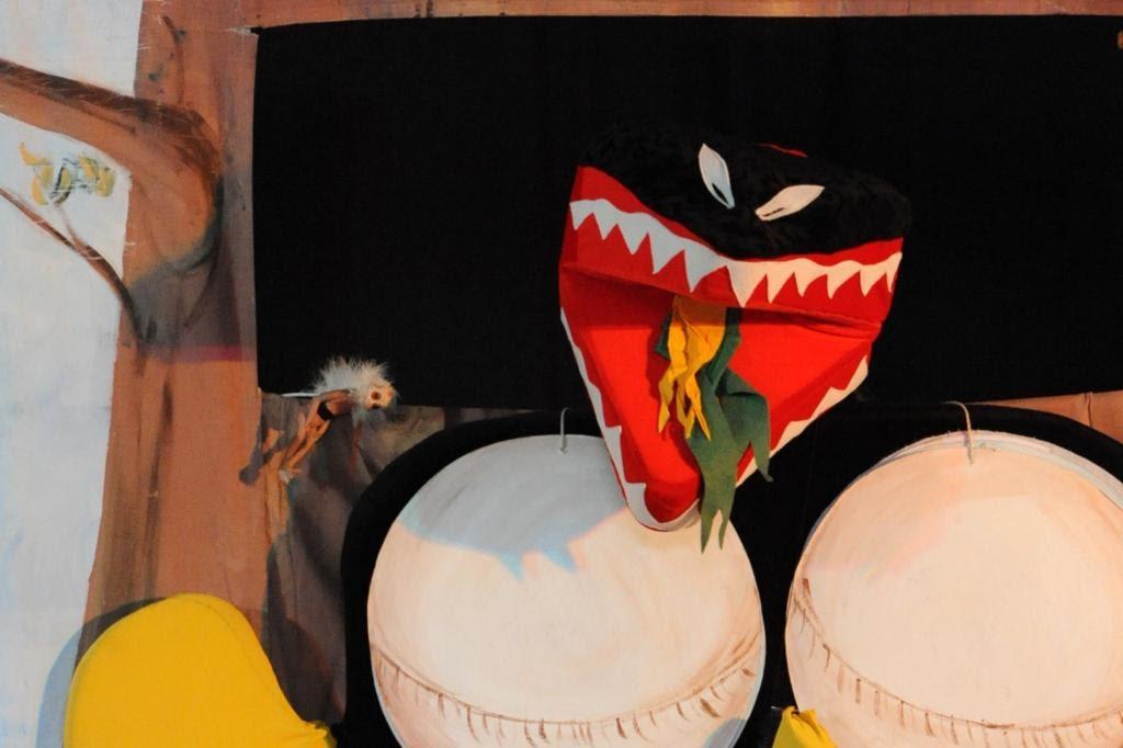 """Spectacle jeune public 3-12 ans: """"L'île aux dragons"""""""