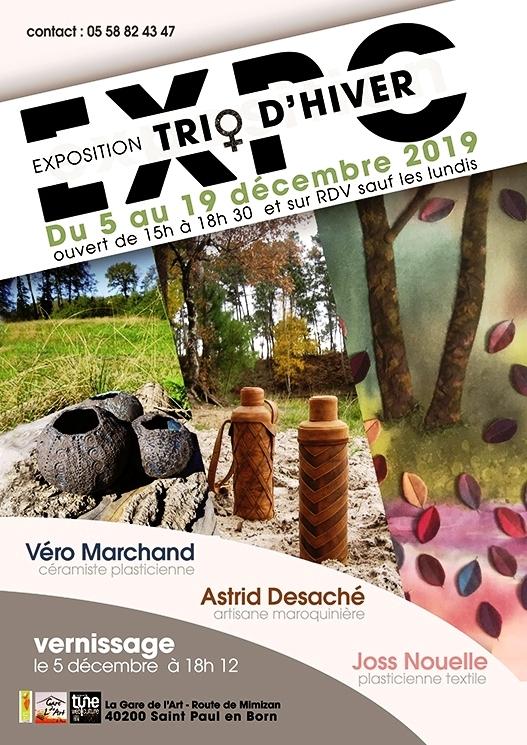 """Expo d'art """"Trio d'hiver"""""""